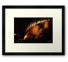 Jewel Cave, Margaret River, Western Australia Framed Print
