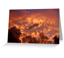 Cloud 1196 Greeting Card