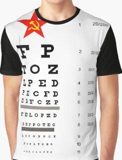 Campaign Memories: Sarah Palin's Eye Chart Graphic T-Shirt