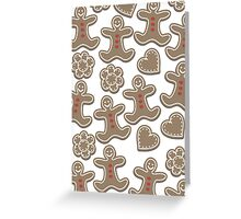 gingerbreads Greeting Card
