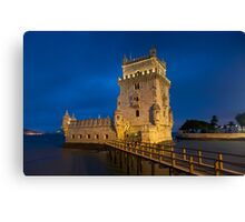 Belem tower, Lisbon Canvas Print