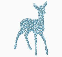 Ice Deer Kids Tee
