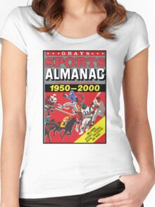 NOW IS THE FUTURE - Sports Almanac 2015 Women's Fitted Scoop T-Shirt