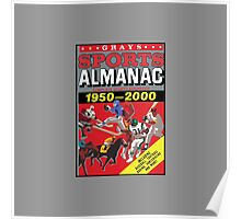 NOW IS THE FUTURE - Sports Almanac 2015 Poster