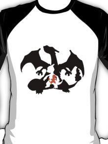 Charmander evolution chart T-Shirt