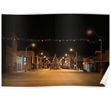 There's a Tree in the Middle of the Road ~Small Town America Poster