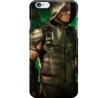 The Vigilante of Starling City- Oliver Queen iPhone Case/Skin