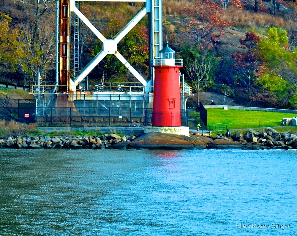 Under the George Washington Bridge by Ellen Rosen Singer