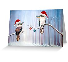 The Christmas Party - Kookaburras Greeting Card