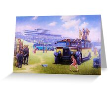 Leyland Lioness coach. Greeting Card
