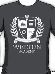 Dead Poet's Society - Welton Academy T-Shirt