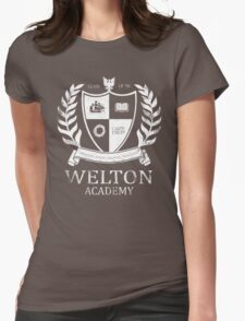 Dead Poet's Society - Welton Academy Womens Fitted T-Shirt