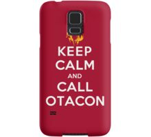 Keep Calm and Call Otacon Samsung Galaxy Case/Skin