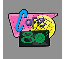 NOW IS THE FUTURE - Cafe 80's 2015 Photographic Print