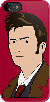 David Tennant - Julian Opie Style by SkinnyJoe