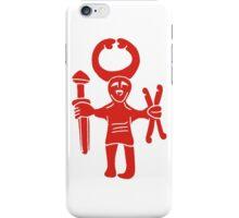 Uppland Berserker 9th Century iPhone Case/Skin