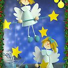 Happy and Blessed Christmas by Ana Belaj
