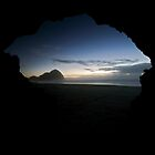 Sea Cave, O'Neills Beach by Michael Treloar