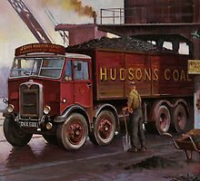 Hudsons' coal AEC tipper. by Mike Jeffries