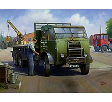 Post Office Engineering Foden. Photographic Print