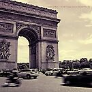 Linchpin of History - Paris, France by mikenyff