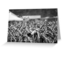 Summer Surfer - Bonnaroo Music Festival, Tennessee Greeting Card