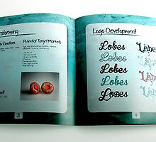 Inside of Lobes Book by jessikachu