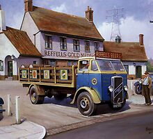 Reffells' ERF at the Woodman. by Mike Jeffries