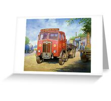 Maudslay Meritor Greeting Card