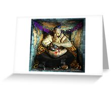 "Ecce Homo 116 "" MOLOCH"" Greeting Card"