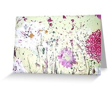 Allium meadow Greeting Card