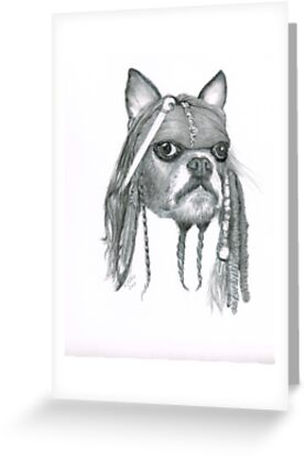 Capt. Jack Dog Sparrow by drawntoatee