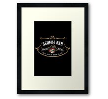 The Scumm Bar Framed Print