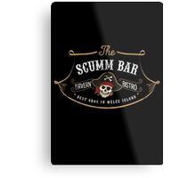 The Scumm Bar Metal Print