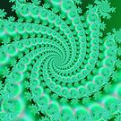 Seagreen Fractal by Deastrumquodvic