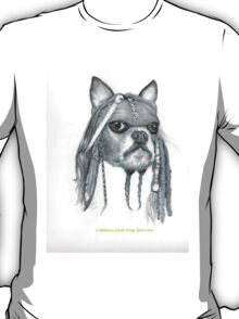 Capt. Jack Dog Sparrow T-Shirt