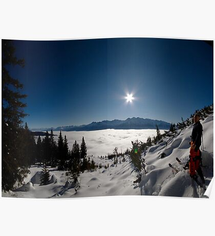 Freeskiing Poster