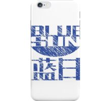 Blue Sun Corporation Logo (Firefly/Serenity, Large) iPhone Case/Skin