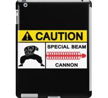 CAUTION - SPECIAL BEAM CANNON iPad Case/Skin