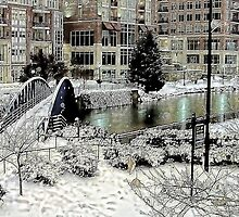 *Snow in Greenville* by DeeZ (D L Honeycutt)
