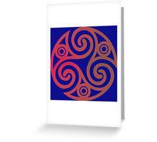 Triskele 01 Greeting Card