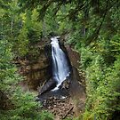 Miners Falls, Munising, Michigan. by Dave Hare