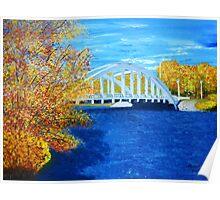 Arched bridge Poster