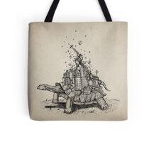 Tortoise Town Tote Bag