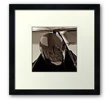 Waiting for Launch Framed Print