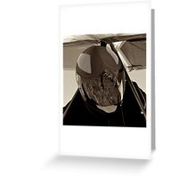 Waiting for Launch Greeting Card