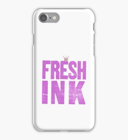 FRESH INK iPhone Case/Skin