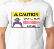 CAUTION - SPECIAL BEAM CANNON v2 Unisex T-Shirt