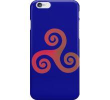 Triskele 02 iPhone Case/Skin
