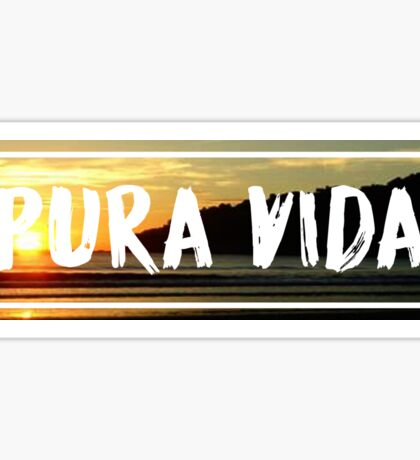 PURA VIDA - SUNSET Sticker